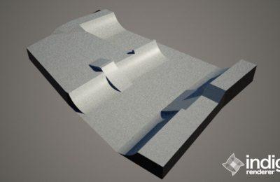 PARK 3D STEPUP V STREDE 1