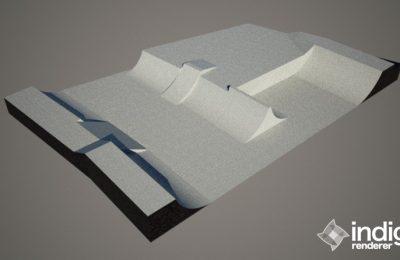 PARK 3D STEPUP V STREDE 2